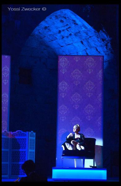 Porgi Amor - מערכה 2 (צילום: יוסי צבקר)