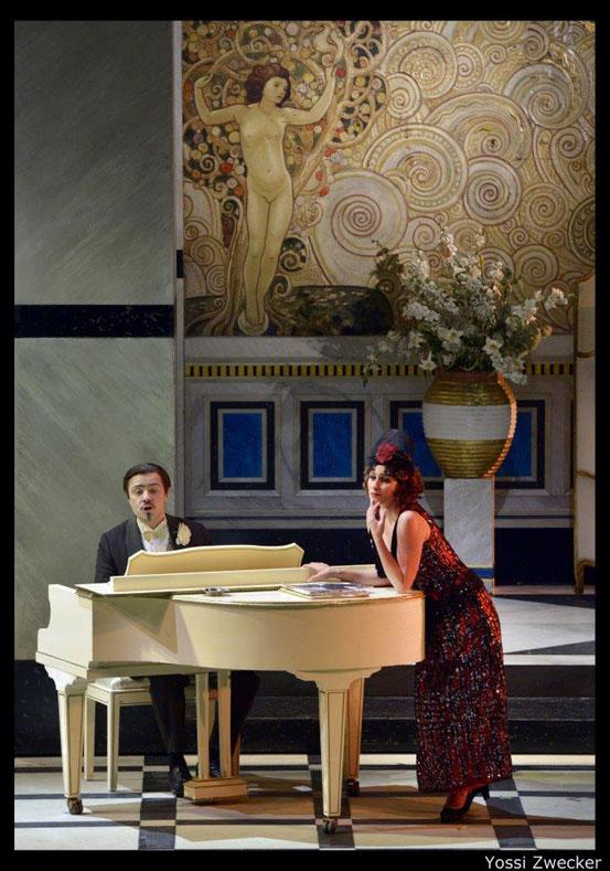 מגדה שרה על דורטה - מערכה ראשונה (צילום: יוסי צבקר)