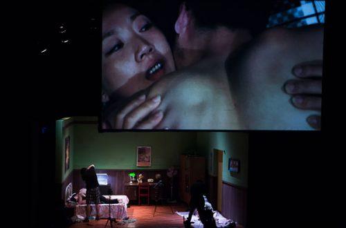 סצנת אהבה אחת בווידיאו - 2 זוגות מצולמים בפועל (צילום באדיבות וונג צ'ונג)